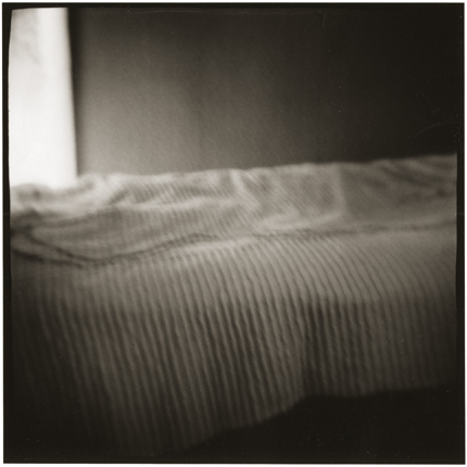 Emmet Blackburn's Bed (date unknown) 10 x 8 inches vintage silver print