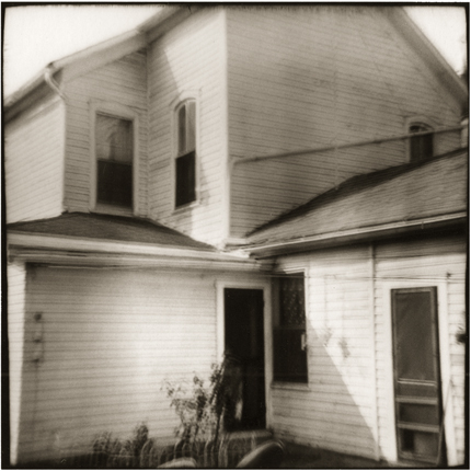Folding House, New Lexington, Ohio, 1974 10 x 8 inches vintage silver print