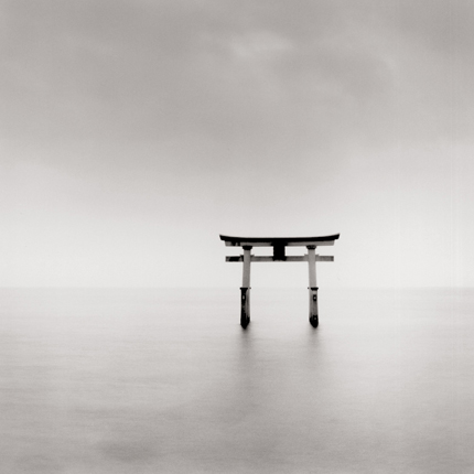 Torii, Takaishima, Honshu, Japan, 2001 7.75 x 7.5 inches edition of 45 toned silver print