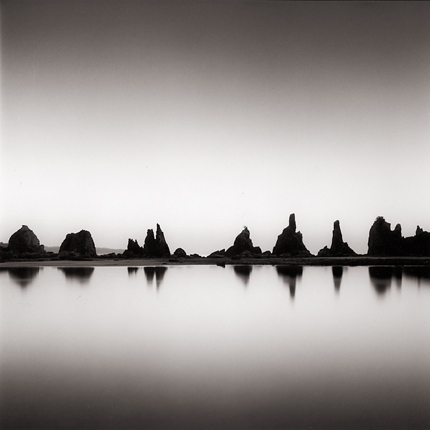 Hashigui-iwa, Kushimoto, Honshu, Japan, 2002 7.5 x 8 inches edition of 45 toned silver print