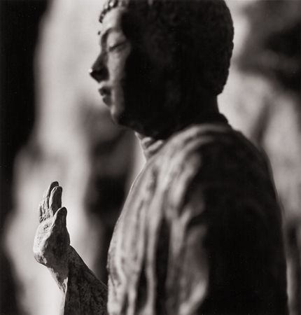 Hand of Buddha, Yakuri Temple, Shikoku, Japan, 2001 7.5 x 8 inches edition of 45 toned silver print