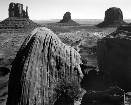 Monument Valley, Utah, c.1960 16 x 20 inches silver print