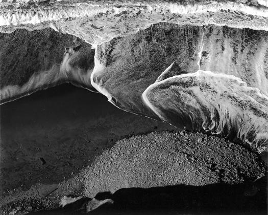 Surf Sequence, San Mateo, California, 1940 8.25 x 10.25 inches silver print
