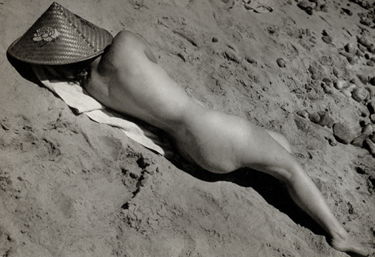 Nude (Sonia), c.1931-33 4.5 x 6.25 inches vintage silver print