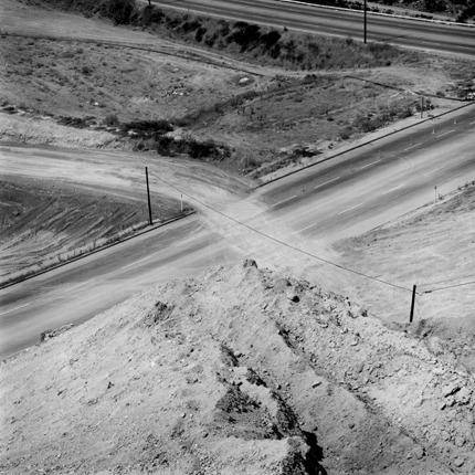 San Fernando, California, 1978 from  The Fault Zone  13.75 x 13.75 inches vintage silver print