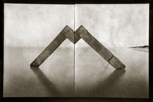 Cabana #17, 2000 12 x 16 inches edition of 20 toned silver print