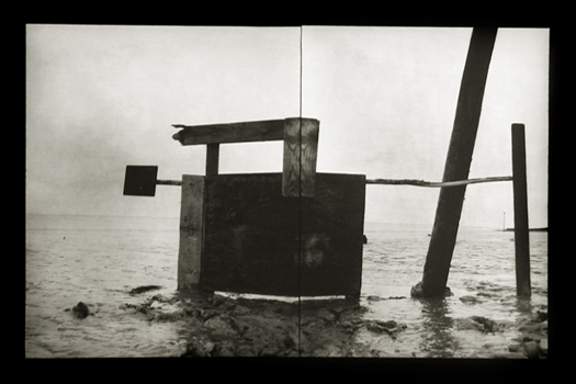 Cabana #34, 2000 12 x 16 inches edition of 20 toned silver print