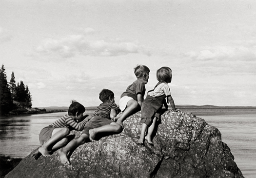 Great Spruce Head Island, 1940 7 x 10 inches silver print