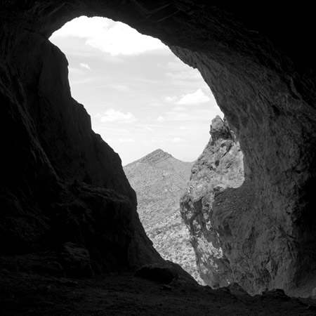 Untitled (0022), 2008 from the series:  Karst and Pseudokarst  44 x 44 inches carbon pigment print edition of 3