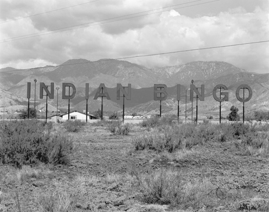 Indian Bingo, Morango Reservation, California, 1983 16 x 20 inches carbon pigment print edition of 20