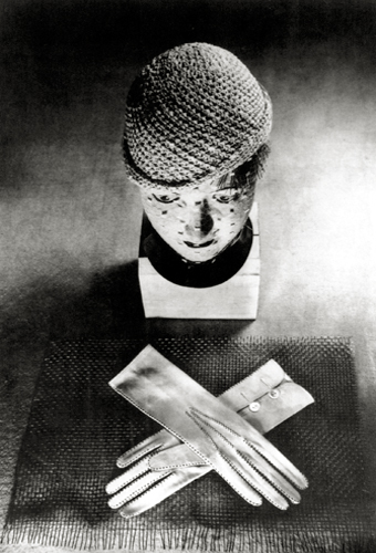 Hat and Gloves, 1931 Silver print 14 x 11 inches