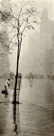 Spring Showers, c. 1900 9 x 3.6 inches photogravure