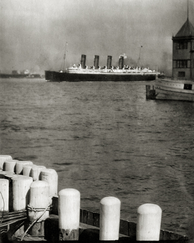 The Mauretania, 1910 8.25 x 6.25 inches photogravure