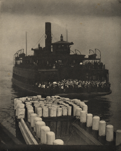 The Ferry Boat, 1910 8 x 6.5 inches photogravure