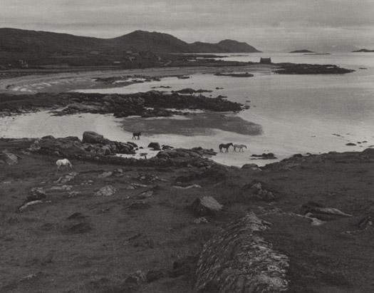 Tir á Mhurain, South Uist, Hebrides, 1954 11 x 14 inches vintage silver print