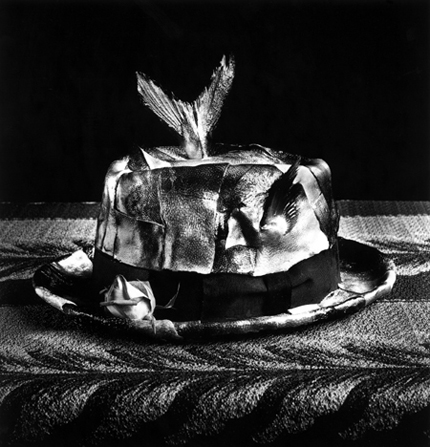 Hat of Yellowtails, 1986 24 x 20 inches silver print