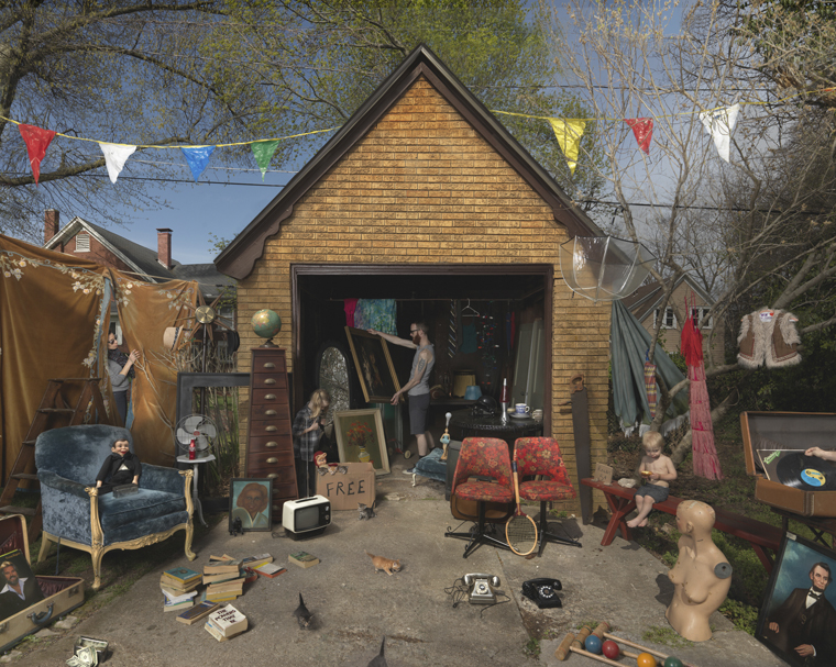 Garage Sale, 2013 24 x 31.5 inches (edition of 15) 35.75 x 46 inches (edition of 10) 44 x 56 inches (edition of 5) archival pigment print