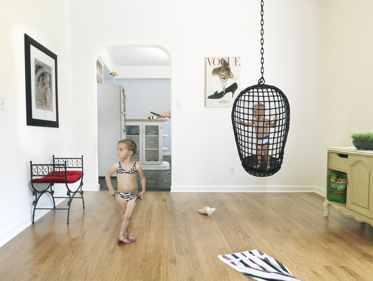Wicker Swing, 2008 24 x 31 inches (edition of 25) 36 x 46 inches (edition of 10) 44 x 57 inches (edition of 5) archival pigment print