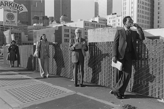 San Francisco, 1977 11 x 14 inches silver print