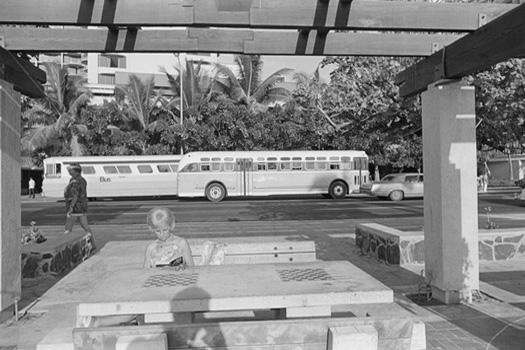 Waikiki, 1975 11 x 14 inches silver print