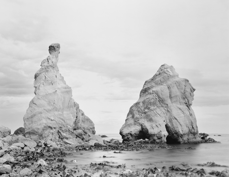Monuments, South Pacific, New Zealand, 2003 20 x 24 inches (edition of 25) 26 x 32 inches (edition of 10) 44 x 56 inches (edition of 5) silver print