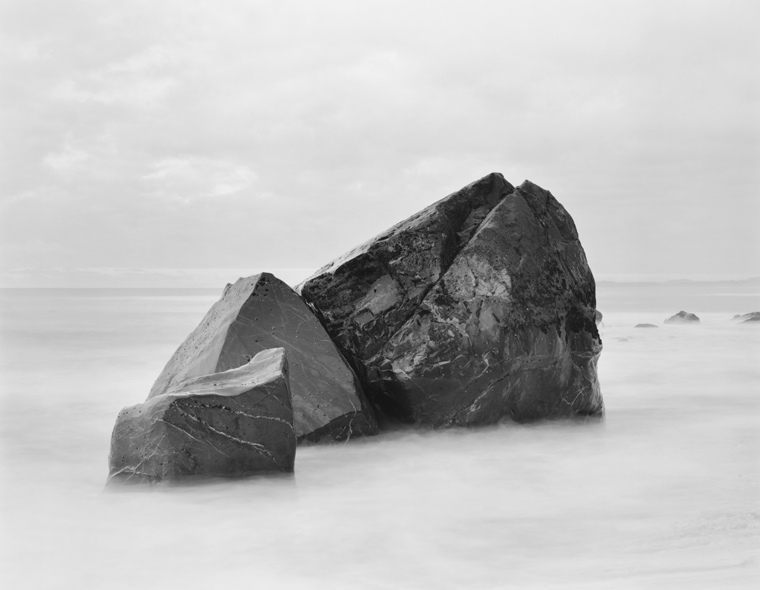 3 Rocks, Tasman Sea, New Zealand, 2003 20 x 24 inches (edition of 25) 26 x 32 inches (edition of 10) 44 x 56 inches (edition of 5) silver print
