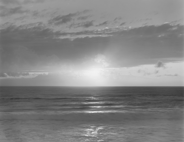 Carmel Beach, 2003 20 x 24 inches (edition of 25) 26 x 32 inches (edition of 10) 44 x 56 inches (edition of 5) silver print