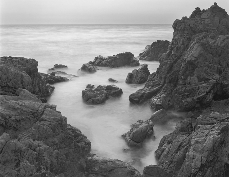 Tidepool, Big Sur, 2001 20 x 24 inches (edition of 25) 26 x 32 inches (edition of 10) 44 x 56 inches (edition of 5) silver print