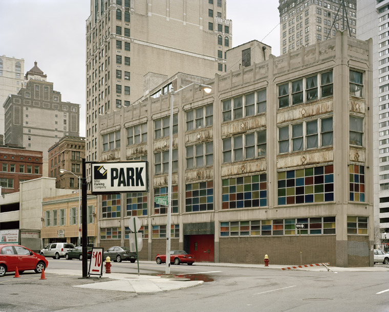 Detroit 3764, 2009 48 x 58 inches edition of 5 chromogenic color print mounted to dibond