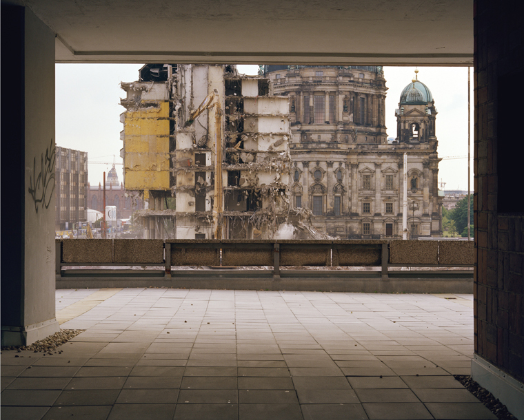 Palast Hotel Berlin 274, 2001 48 x 58 inches edition of 5 chromogenic color print mounted to dibond