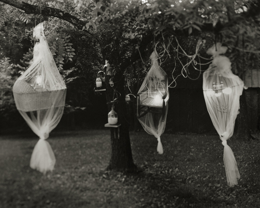 Cocoon, 2002 from the series:  Hymnal of Dreams  20 x 24 inches toned silver print