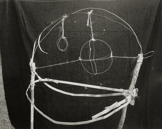 Astrolabe, 2001 from the series:  Hymnal of Dreams  16 x 20 inches toned silver print