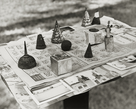 Board Game, 1999 from the series:  Hymnal of Dreams  16 x 20 inches toned silver print