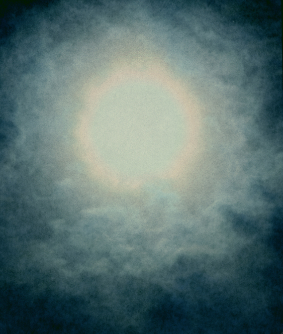 Into the Sun 12, 2009 26 x 22 inches 50 x 42 inches varnished pigment inkjet print
