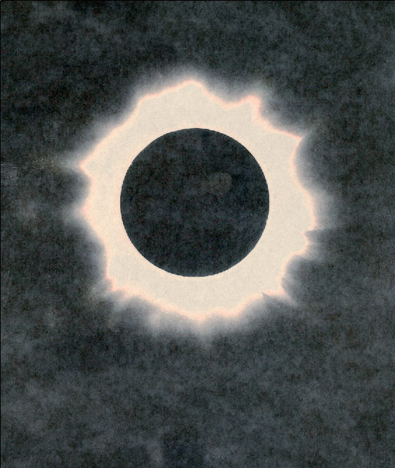 Into the Sun 5, 2009 26 x 22 inches 50 x 42 inches varnished pigment inkjet print
