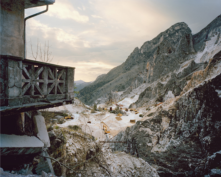 Carrara #635, 2010  48 x 58 inches chromogenic dye coupler print