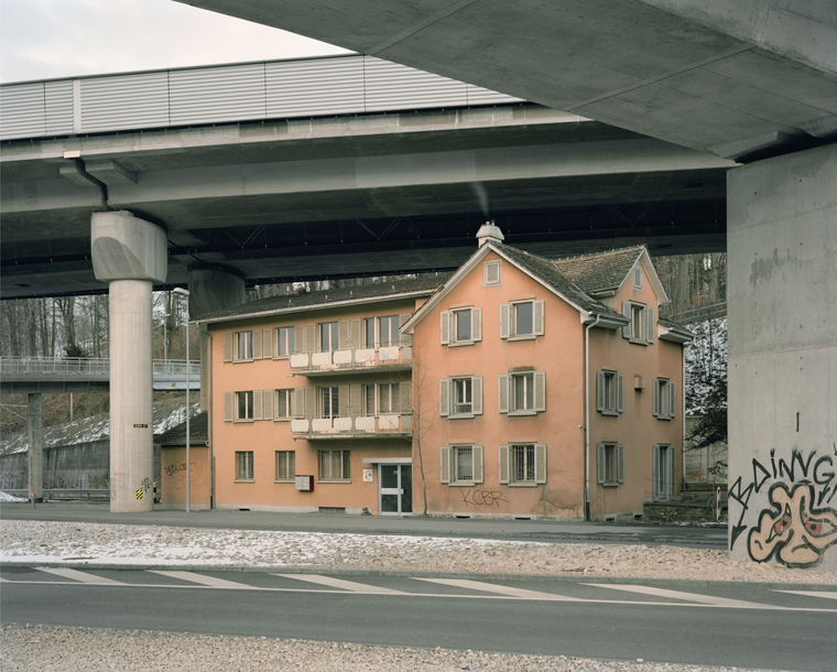 Zürich #367, 2011  48 x 58 inches chromogenic dye coupler print