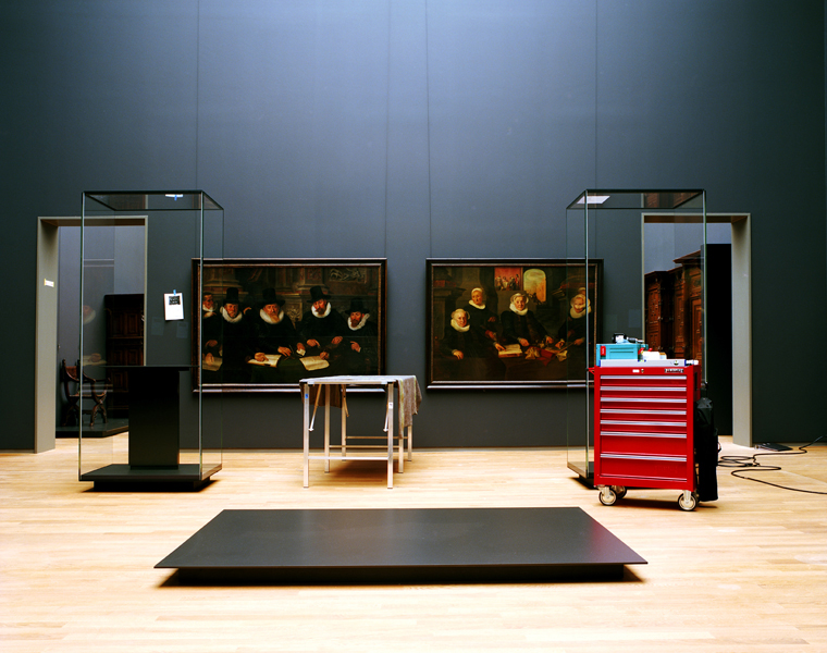 Rijksmuseum #6, January 2013 16 x 20 inches 36 x 43 inches edition of 10 chromogenic dye coupler print