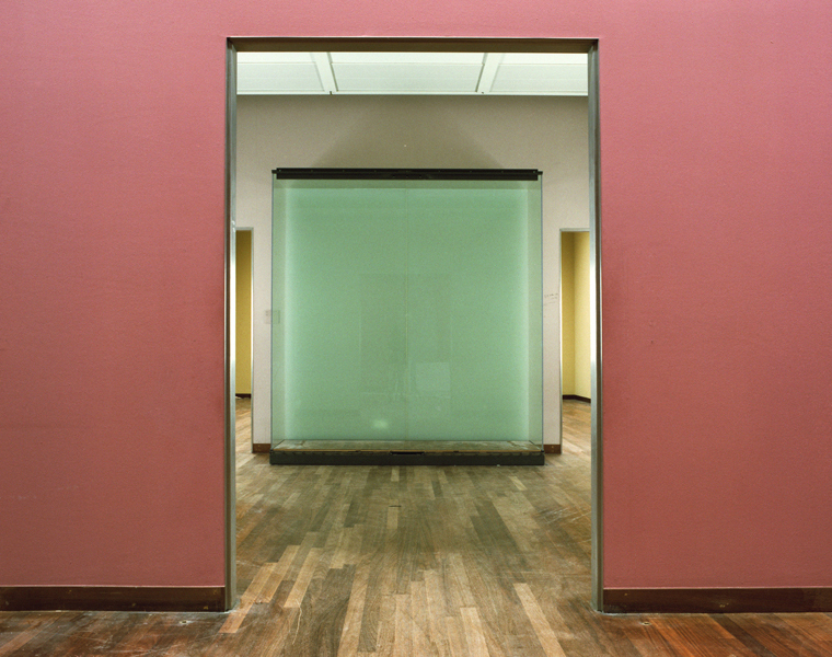 Rijksmuseum #58, July 2004 16 x 20 inches 36 x 43 inches edition of 10 chromogenic dye coupler print