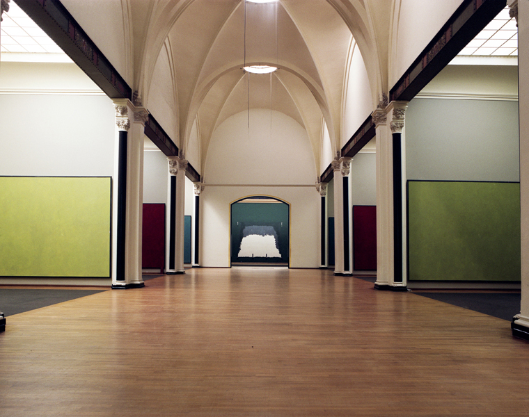 Rijksmuseum #14, January 2004 16 x 20 inches 36 x 43 inches edition of 10 chromogenic dye coupler print