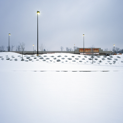 Nº5, Kingston, New York, 2003 from the series:  Strip Malls  18 x 18 inches edition of 20 archival pigment print