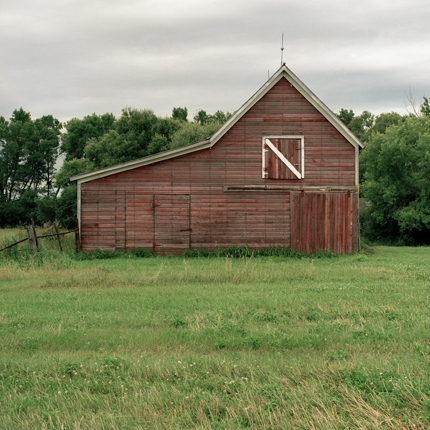 Nº22, South Dakota, 1993 from the series:  Farm Forms  18 x 18 inches edition of 20 archival pigment print