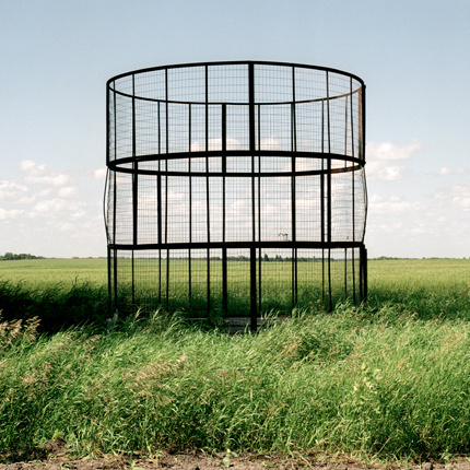 Nº2, Kansas, 1993 from the series:  Farm Forms  18 x 18 inches edition of 20 archival pigment print