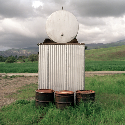 Nº23, California, 1995 from the series:  Farm Forms  18 x 18 inches edition of 20 archival pigment print