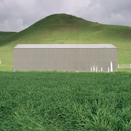 Nº17, California, 1995 from the series:  Farm Forms  18 x 18 inches edition of 20 archival pigment print