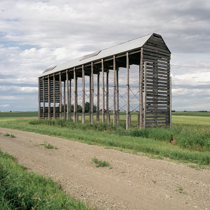 Nº40, South Dakota, 1993 from the series:  Farm Forms  18 x 18 inches edition of 20 archival pigment print