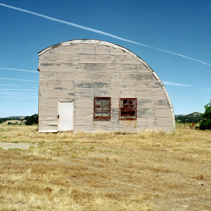 Nº1, California, 1995 from the series:  Farm Forms  18 x 18 inches edition of 20 archival pigment print
