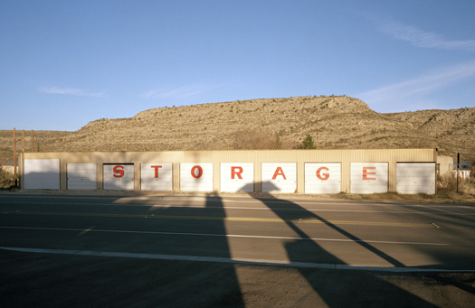 Nº8, Texas, 2000 from the series:  Storage Units  20 x 24 inches edition of 20 archival pigment print
