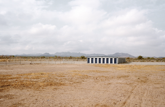 Nº19, Arizona, 2001 from the series:  Storage Units  20 x 24 inches edition of 20 archival pigment print