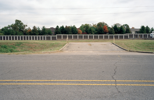 Nº14, West Virginia, 2001 from the series:  Storage Units  20 x 24 inches edition of 20 archival pigment print